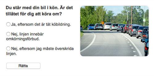 Teoriprov Körkortonline.se