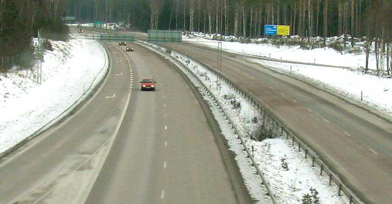En motorväg